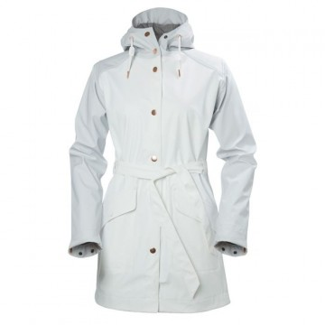 W KIRKWALL RAINCOAT -  Hvit HELLY HANSEN